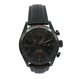 Oris Audi Sport Limited Edition Black Titanium Watch 77876617784LS