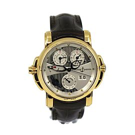 Ulysse Nardin Sonata Cathedral Dual Time 18K Rose Gold Watch 676-88