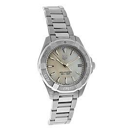 Ladies Tag Heuer Aquaracer WAY1312.BA0915 Steel MOP Quartz 32MM Watch