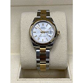 Brand New Ladies Datejust 28mm 279163 18K Yellow Gold & Steel Box and Papers