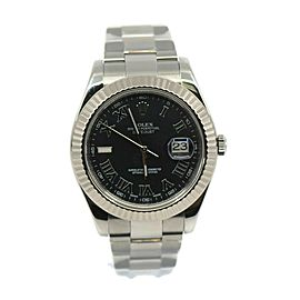 Rolex Datejust II Stainless Steel Watch 116334