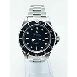 Rolex Submariner 14060 Black Dial Stainless Steel 2002