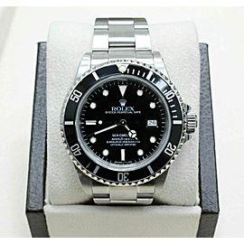 Rolex Sea Dweller 16660 Black Dial Stainless Steel Watch 40mm