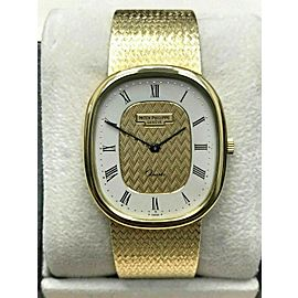 Patek Philippe Golden Ellipse Ref 3838 18K Solid Gold with Box