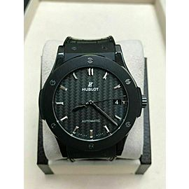 Hublot Black Ceramic Classic Fusion Black Magic Automatic 511.CM.1771.RX Receipt