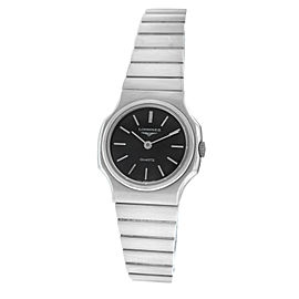 New Ladies' Longines Stainless Steel Quartz 20mm Watch