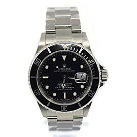 Rolex Submariner Stainless Steel Watch 16610T