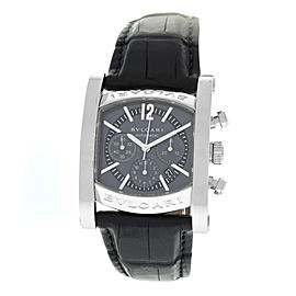 Men's Bvlgari Bulgari Assioma AA44SCH Automatic 34MM Steel Chrono Date Watch