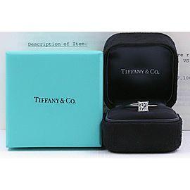 Tiffany & Co Princess Diamond Engagement Ring 1.20 ct F VS1 Platinum $18500 Ret.