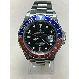 Rolex GMT Master II 16710 Pepsi Red and Blue Stainless Steel