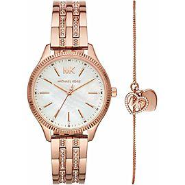 Michael Kors Lexington Gold Tone Stainless Steel Watch MK4493