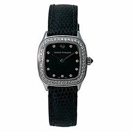 David Yurman Thoroughbred T304-XSST Women's Quartz Watch 0.88CT SS 25mm