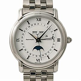 Maurice Lacroix Masterpiece Phase De Lune 37757 Automatic With W Box & Papers