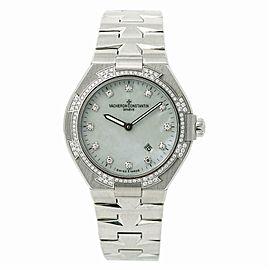 Vacheron Constantin Lady Overseas 25750 Quartz Factory Diamond Bezel & Dial 34MM