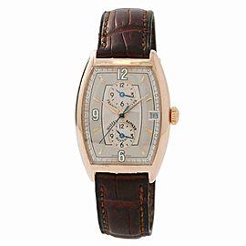 Franck Muller Master Banker Havana 2852MBHV Mens Automatic Watch Grey Dial 31mm