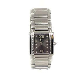 Patek Philippe Twenty Four 24 Diamond Stainless Steel Watch 4910/010
