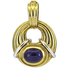 Boucheron Amethyst Pendant Enhancer in 18k Yellow Gold