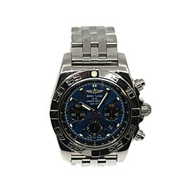 Breitling Chronomat 44 Stainless Steel Watch AB0110