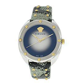 New Ladies' Versace Shadov Diamond VEBM00718 Stainless Steel Quartz 38MM Watch