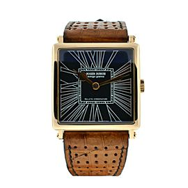 Roger Dubuis 18k Yellow Gold Square Watch