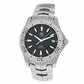 Men's Tag Heuer Link WJ1110 Stainless Steel Date 39MM Quartz Watch