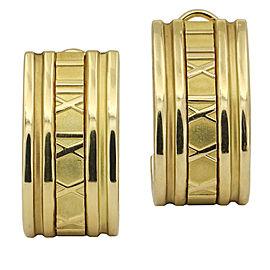 Tiffany & Co. Atlas Half Hoop Earrings in 18k Yellow Gold X-Large