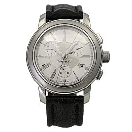 Tiffany & Co. Mark Round Quartz Chronograph Men's Watch in Stainless Steel