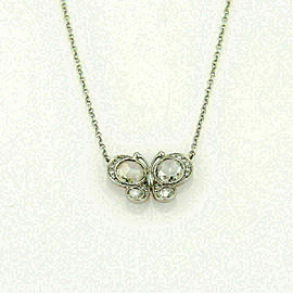 Tiffany & Co. Enchant Diamond Platinum Butterfly Pendant Rt. $5,700