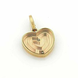 Cartier Labyrinth Heart 18k Rose Gold Charm