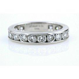 Tiffany & Co Full Circle Platinum Diamond Eternity Band ring 1.80 tcw 3.9 MM