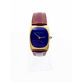 Vacheron Constantin Ref 7813 18KYellow Gold Lapis Lazuli Dial VERY RARE