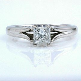 VERA WANG Engagement Ring Love Collection 0.85 tcw 18k White Gold $7,999 Retail