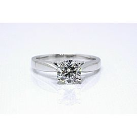 Grand Celebration Diamond Engagement Ring Round 1.04 ct 14k White Gold $7,995