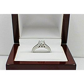 Elara Radiant Platinum Diamond Engagement Ring GIA 0.71 ct I VVS2 $9,000 Retail