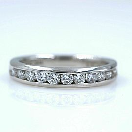 Zales Octillion Platinum Diamond Wedding Band Ring $3,995 Retail