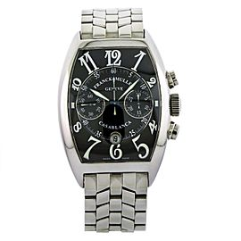 Franck Muller Casablanca Chronograph Stainless Steel Men's Watch 8885 C CC DT