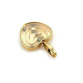 Cartier Heart Labyrinth Maze 18k Rose Gold Charm