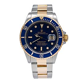 Rolex Submariner Date 16613 40mm Mens Watch