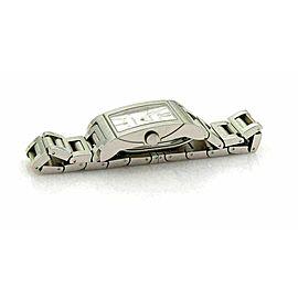Bulgari Rettangolo Automatic Stainless Steel Date Sapphire Crystal Watch