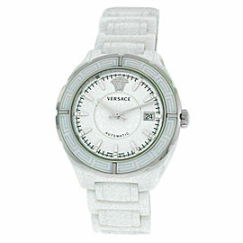 New Versace DV One 02ACS1D001 SC01 Ceramic Diamond 41MM Automatic Date Watch
