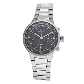 IWC Schaffhausen GST IW372702 Chronograph Date Stainless Steel 36MM Quartz Watch