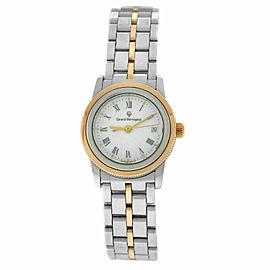 Ladies Girard-Perregaux GP90 Ref. 1300 Steel Rose Gold 25MM Quartz Watch