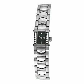 Ladies' Charriol COLVMBVS COLUMBUS INTRM9 Steel Diamond 15MM Quartz Watch