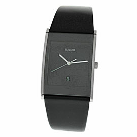 New Men's Rado Integral R20861165 Steel 31MM Date Quartz $1,600 Watch