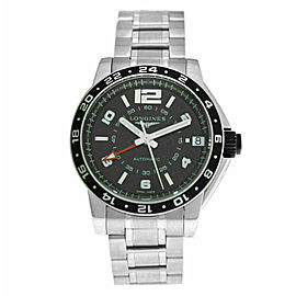 Men's Longines Admiral GMT L3.668.4.56.6 Steel 42MM Automatic Watch