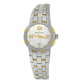 Ladies' Maurice Lacroix Milestone MS1013-PS103-110 Steel $2200 Quartz 29MM Watch