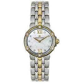 New Lady Maurice Lacroix Calypso CA1102-DP505-170 Diamond MOP $2800 Quartz Watch