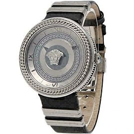 New Versace Vanity VLC01 0014 Steel Quartz 40MM Watch