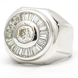 Women's Diamond Statement Rings in 18K White Gold ( 2.35 ct tw )