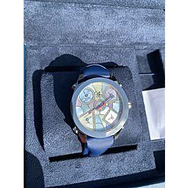 Jacob & Co. 5 Time Zone Multicolor Diamond Dial Quartz watch